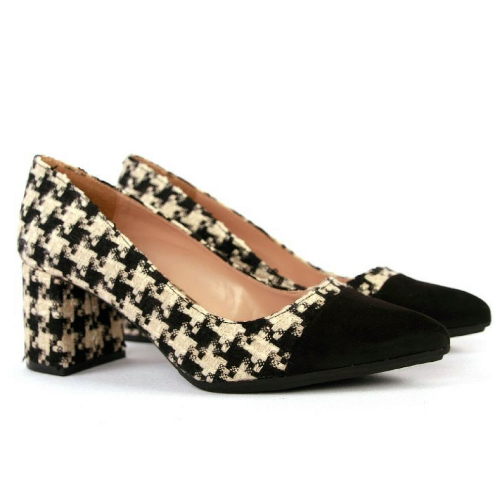 Zapato puntera combinada negro  7f9363ad5820