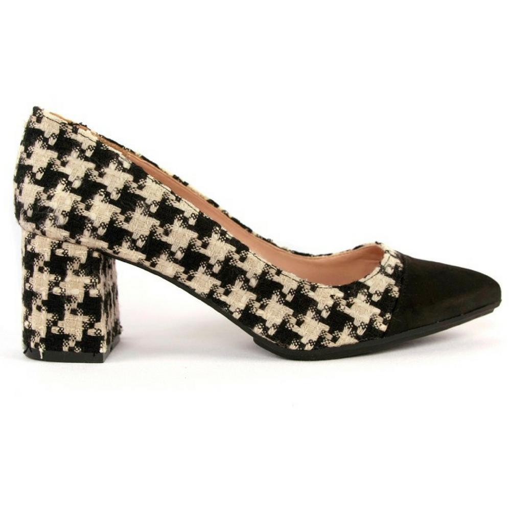 Tienda Puntera Online Zapato Negro Combinada tRqwqBa